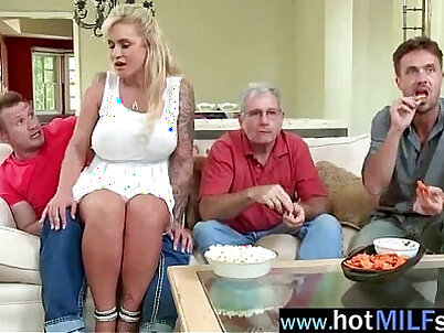 Nasty wild milf ryan conner in front of camera act like a star video-03